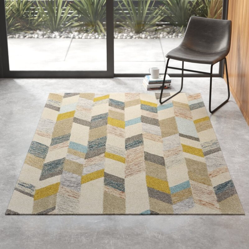 Chelsea Hand Tufted Gray Area Rug Reviews Allmodern