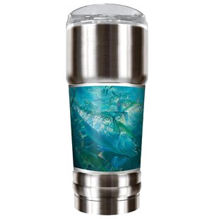 Mark Susinno's School of Tuna 32 oz. Stainless Steel Travel Tumbler