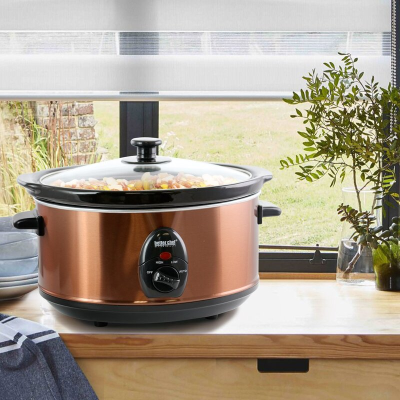 Better Chef Better Chef 3.5 Liter Oval Slow Cooker