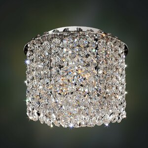 Milieu Metro 2-Light Semi-Flush Mount