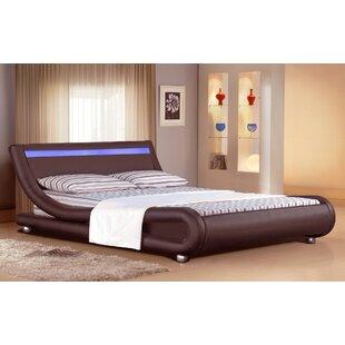 Review Lollar Upholstered Bed Frame
