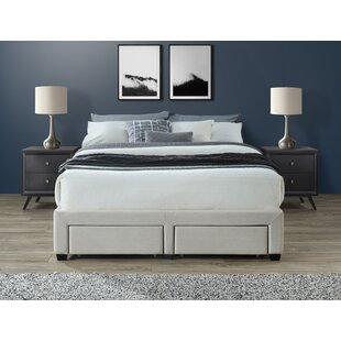 Waggoner Cosmo Queen Upholstered Storage Platform Bed