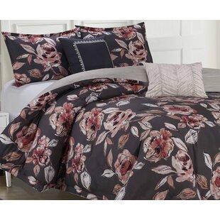 6 Piece Reversible Comforter Set