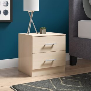 Burnette 2 Drawer Nightstand by Trule Teen