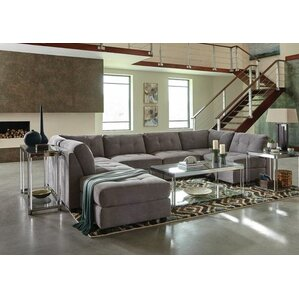 Fowles Modular Sectional  sc 1 st  Wayfair : microfiber sectional sofas - Sectionals, Sofas & Couches