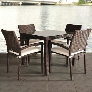 Finola 5 Piece Dining Set with Cushion