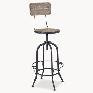 Keller Height Adjustable Swivel Bar Stool By Williston Forge