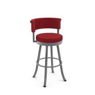 Ebern Designs Lillian 27¨ Swivel Bar Stool