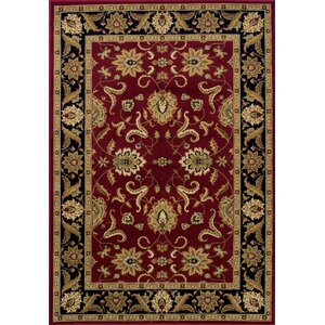 Ardaghmore Red Area Rug