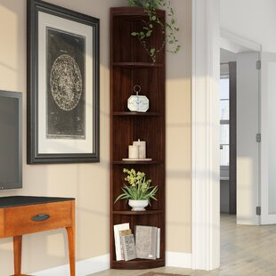 Celia Corner Unit Bookcase by Red Barrel Studio Bargain