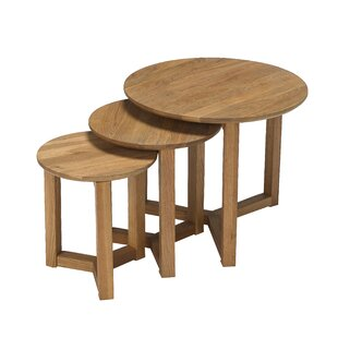 Decimus 3 Piece Nest Of Tables By Mercury Row