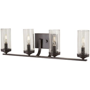 Compare prices Mauch 4-Light Vanity Light By Gracie Oaks