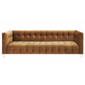 Pernilla Velvet Chesterfield Sofa by Willa Arlo Interiors