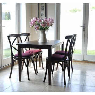 Celia Dining Set With 4 Chairs (Set Of 5) By Ophelia & Co.