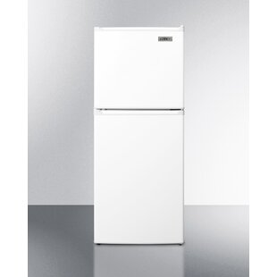 Summit 4.8 Cu.ft. Compact Refrigerator With Freezer by Summit Appliance No Copoun