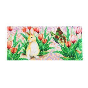 Borrero Bunny Patch Sassafras Switch Doormat