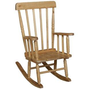 Children's Rocking Chair by Wood Designs