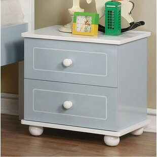 Read Reviews Marano 2 Drawer Nightstand By Andrew Home Studio
