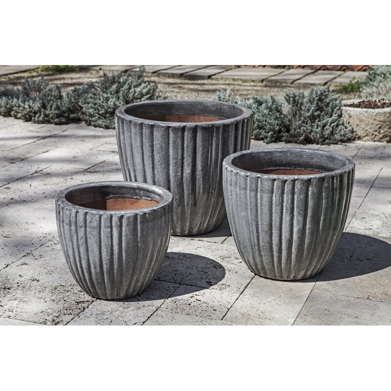 Bloomsbury Market Vieques 3 Piece Terracotta Pot Planter Set Wayfair