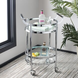 Hendrum Bar Cart by Wrought Studio