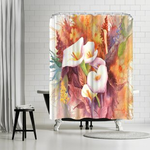 Sunshine Taylor Calla Dance Single Shower Curtain by East Urban Home Reviews