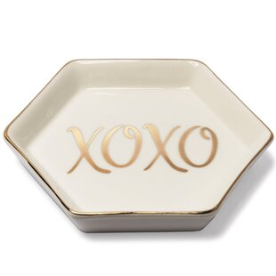 Best Reviews Messages & Moments 'XOXO' Accessory Tray By Prinz