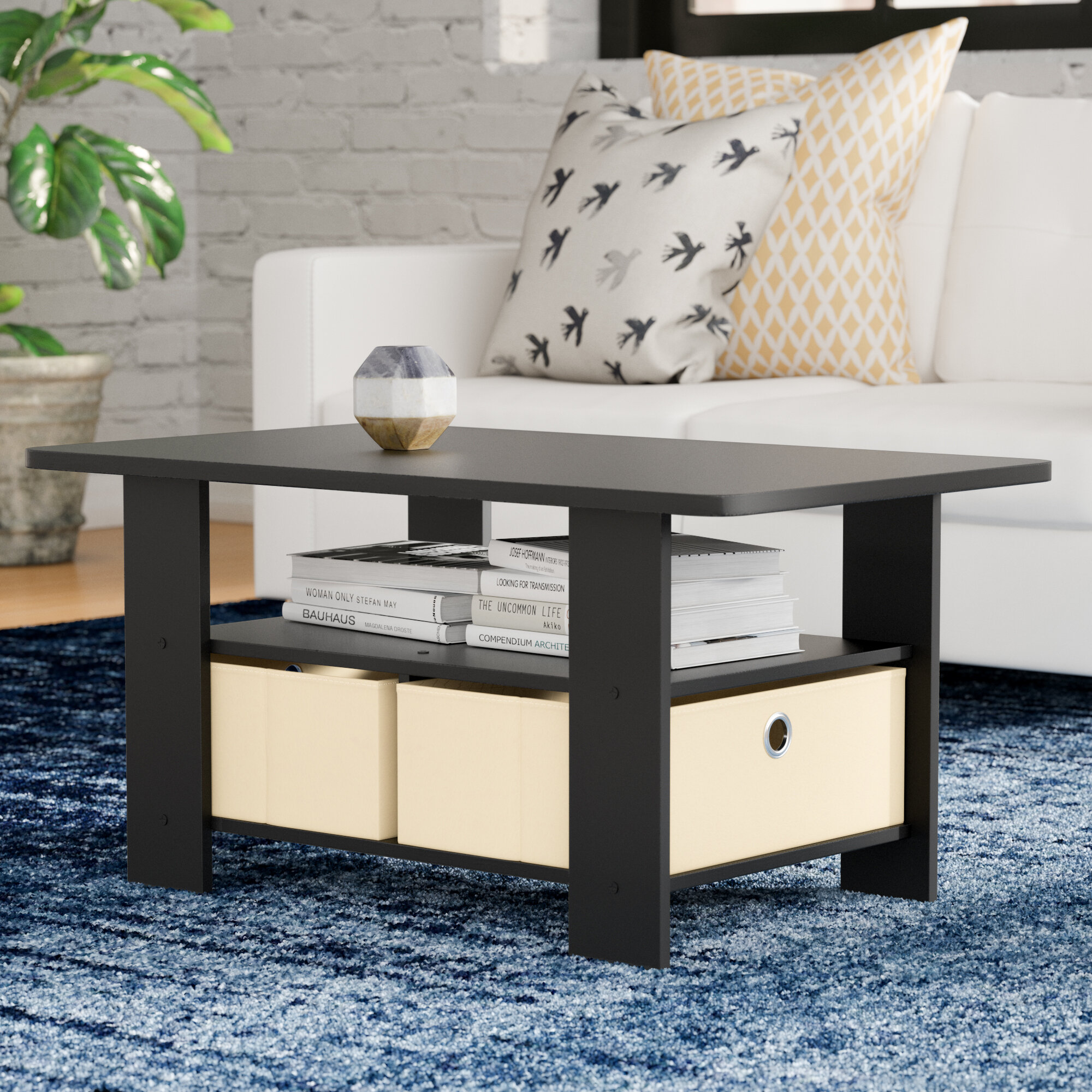 desk iohomes monroe kitchen table rectangular dp dining black coffee com and walnut amazon