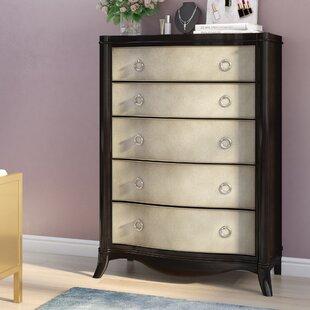 Willa Arlo Interiors Archer 5 Drawer Dresser