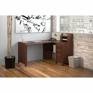 Enterprise L-Shape Executive Desk with Hutch