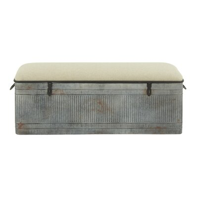 Dublin Upholstered Storage Bench by August Grove