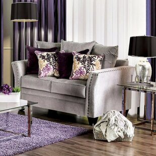 Great choice Fulmer Elegant Loveseat by Everly Quinn Reviews (2019) & Buyer's Guide