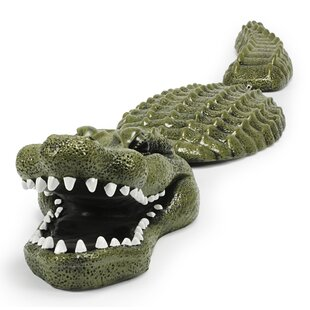 Floating Alligator Statue