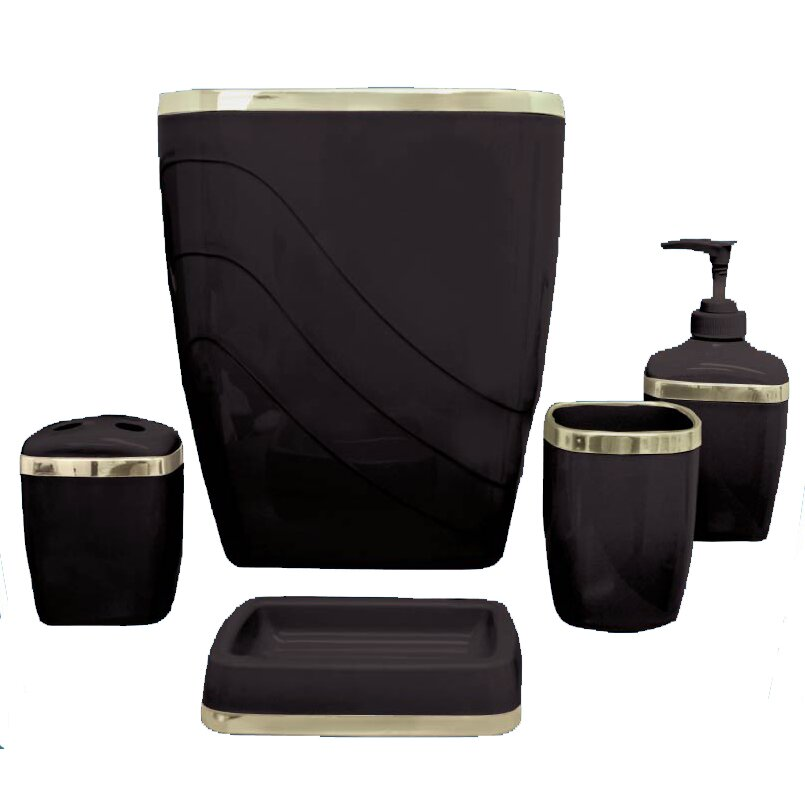 Quick View Wayfair Basics 5 Piece Bathroom Accessory Set