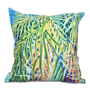 Granata Malibu Floral Print Throw Pillow