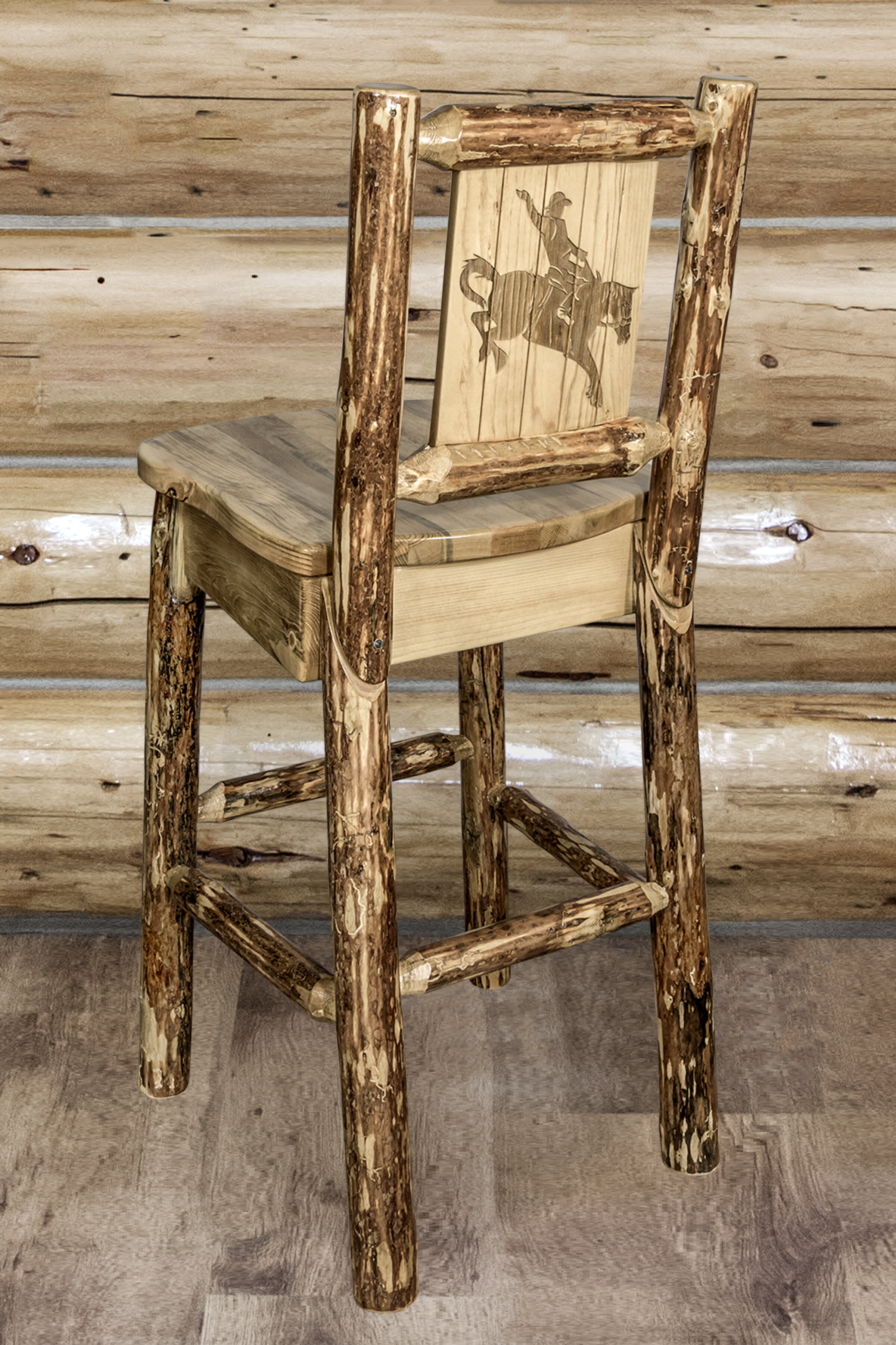 Loon Peak Tustin Solid Wood 30 Bar Stool Wayfair
