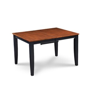 Haris Counter Height Solid Wood Dining Table Alcott Hill