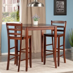 Merkley 3 Piece Counter Height Pub Table Set Red Barrel Studio
