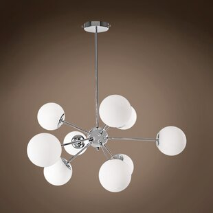 Kailee 9-Light Sputnik Chandelier by Brayden Studio