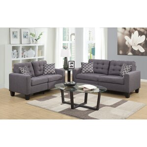 Burcet 2 Piece Living Room Set by Ebern Designs