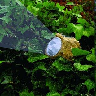 Solar Stone 3-Light LED Spot Light