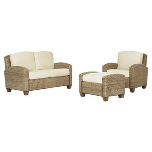 Big Save Hollier 3 Piece Living Room Set by Bay Isle Home Reviews (2019) & Buyer's Guide