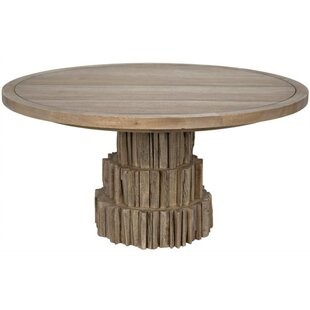 Cliff Solid Wood Dining Table Noir