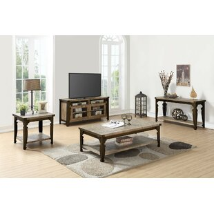 Gracie Oaks Kensal 3 Piece Coffee Table Set