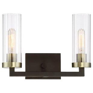 Brayden Studio Karns 2-Light Vanity Light