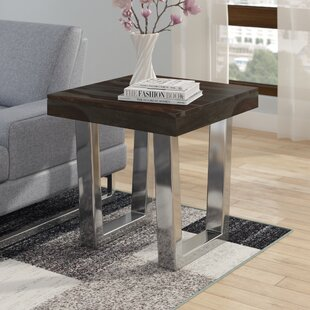 Napoli Sled End Table by Brayden Studio