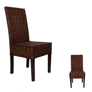 Hibiscus Rattan Patio Dining Chair