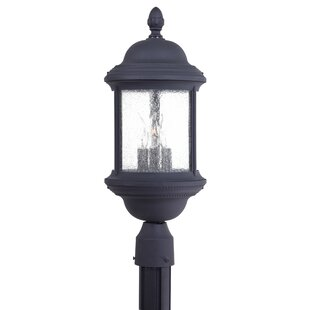 Hancock Outdoor 3-Light Lantern Head by Great Outdoors by Minka