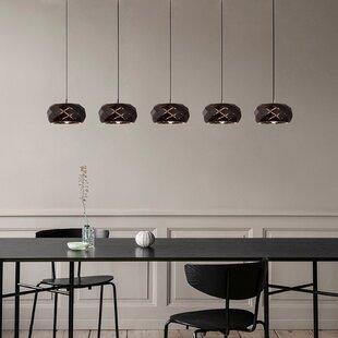 Bixby 5-Light LED Cluster Pendant by Orren Ellis