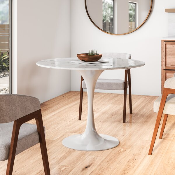 Modern Contemporary Faux Marble Dining Table Allmodern