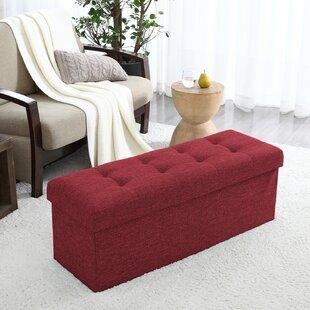 Winston Porter Calleja Upholstered Storag..